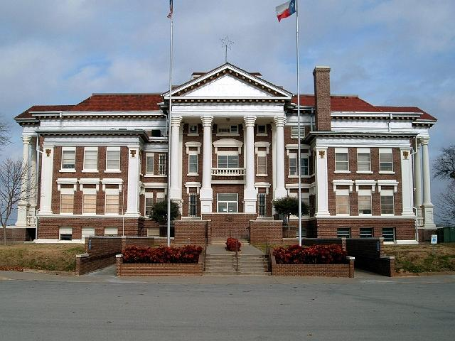 Montague County Court house