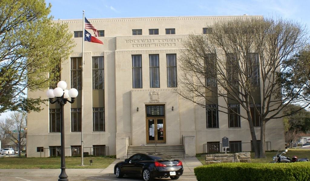 Old Rockwall County Court House
