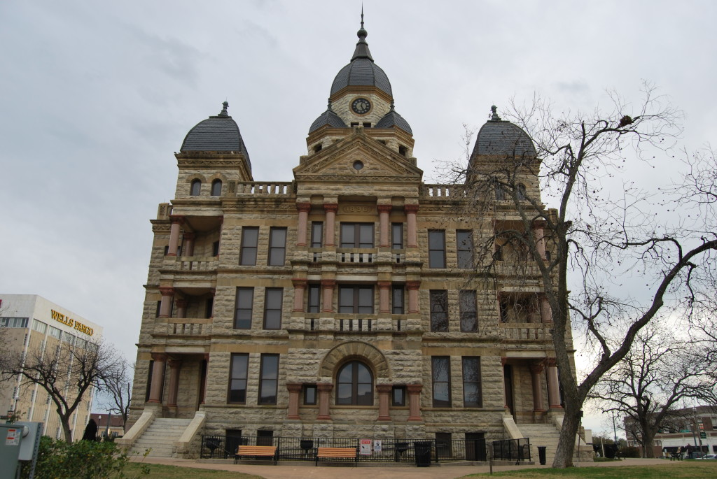 Old Denton County Court House